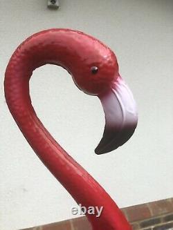 150cm Tall Metal Pink Flamingo