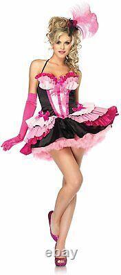 3 pc. Pretty Flamingo Pink Bird Tropical Dress Up Halloween Sexy Adult Costume