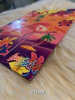 ALOHA Lisa Frank Pink Flamingo Hawaii Ocean Birds Hibiscus Folder Portfolio