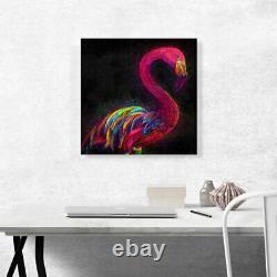 ARTCANVAS Pink Flamingo Animal Canvas Art Print