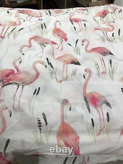 Flamingo Pine Cone Hill Annie Selke Twin Duvet Cover