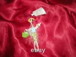 Flirt Alert Pink Flamingo Flirty Feathers Ornament, Box, Tag Christmas Gift