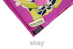 Hermes Scarf Flamingo Party Miami Limited Edition Pink Carre 90 New with B