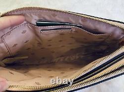 Kate Spade Flamingo Crossbody Double Zip Camera Style Bag PINK LEATHER
