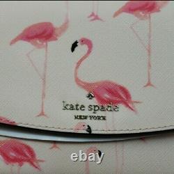 Kate Spade Flock Party Laurel Way Festive Flamingo Bag New Pink