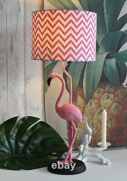 Lamp Flamingo Figurine Bedside Lamp Table Lamp Bird Figurine Light