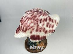 Large 20 Pink Flamingo Ceramic Statue 20 Vintage MCM Old Florida Vtg