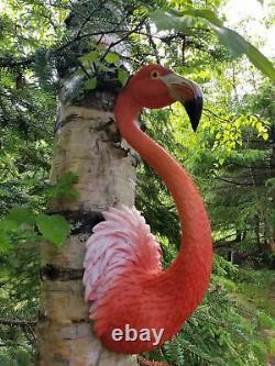 Pink Flamingo Bird Statue (choose your favorite)