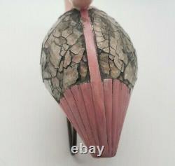Pink Flamingo Statue Chipped Beak