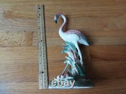 Rare Vintage Brad Keeler Signed Pink Flamingo Bird Figurine No. 782, 9.5 tall