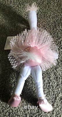 Russ Berrie Olivia Plush Stuffed Animal Luv Pet Pink White Flamingo