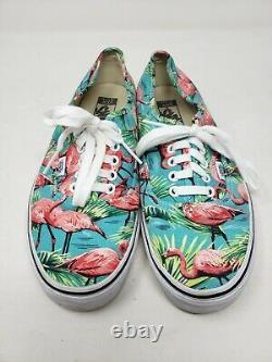 Vans Van Doren Ultracush Deluxe Mint Green Flamingos Sneakers Athletic Shoes 11