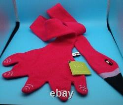 Wool scarf flamingo BRAND NEW WITH TAGS Donna Wilson